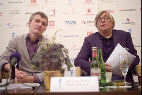 Karel Och with Jiri Bartoska